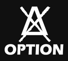 Option Simple logo white by tnoteman557