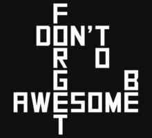 DFTBA T-shirt v.2 by syrensymphony