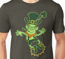 Irish Leprechaun Clapping Feet Unisex T-Shirt