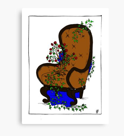 LivingChair Canvas Print
