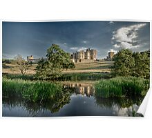Alnwick Castle, Northumberland Poster