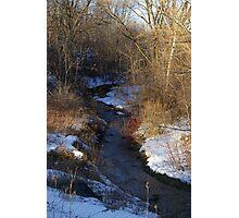 Winter RunOff......... Photographic Print