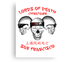 Lords of Death Canvas Print