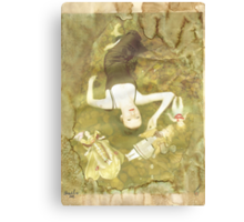 Pinocchio (Pretty porcelain skin) Canvas Print