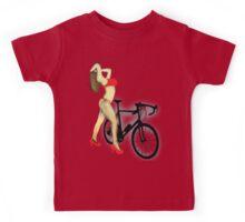SEXY Cycle BIKE PRINT  Kids Tee