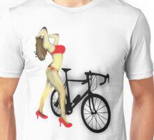 SEXY Cycle BIKE PRINT  Unisex T-Shirt