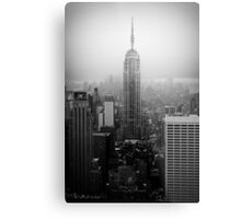 The Empire State Building, New York City Metal Print