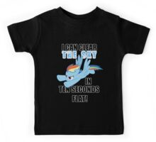 Rainbow Dash - Ten Seconds Flat Kids Tee