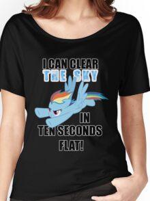 Rainbow Dash - Ten Seconds Flat Women's Relaxed Fit T-Shirt
