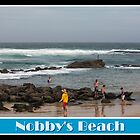 Rockpool Swimmers - Nobby&#x27;s Beach by reflector
