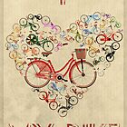 I Love My Bike by Andy Scullion