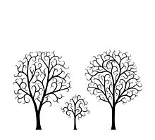 Small Tree Family by ninthcircle