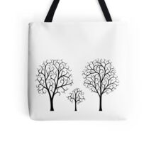 Small Tree Family Tote Bag