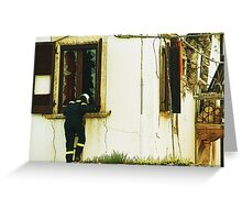 Anybody there? Greeting Card
