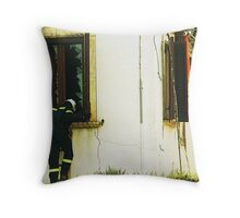 Anybody there? Throw Pillow