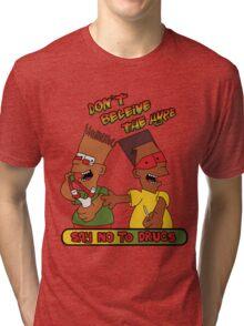 say no to drugs Tri-blend T-Shirt
