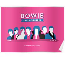 Bowie ch-ch-changes Poster