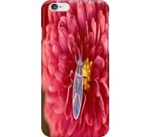 Bug on a flower iPhone Case/Skin