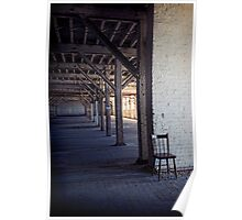 Abandoned Woolstores Poster