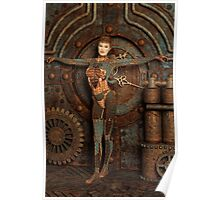 Steampunk Camouflage Poster