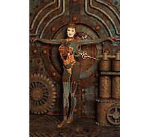 Steampunk Camouflage Photographic Print