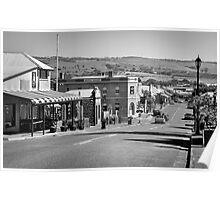 Port Elliot Main Street. Poster