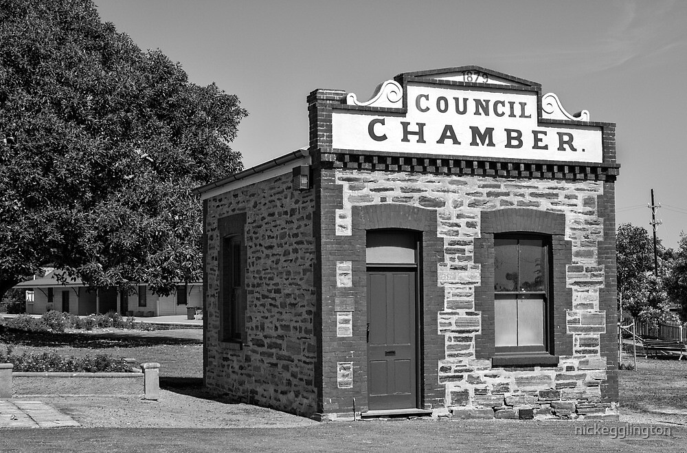 Old Council Chambers Port Elliot. by Nick Griffin
