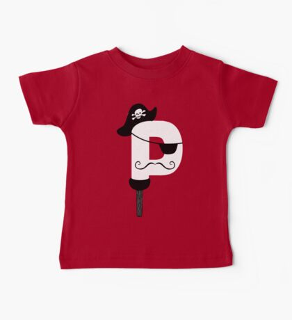 P is for Pirate V2 Baby Tee