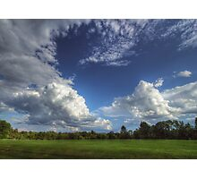 Summertime Golfclub Cloudscape Photographic Print