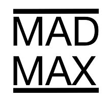 Mad Max (Title) Photographic Print