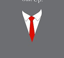 Suit UP - gray by MCellucci