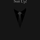 Suit UP - black by Maggie Cellucci