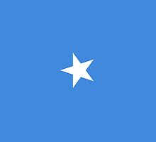 Somalia Flag by pjwuebker