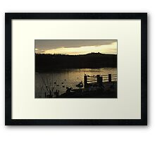 A winter's afternoon Framed Print