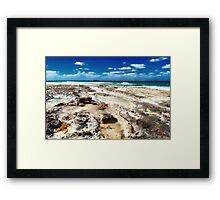 From Shore to Shore... Framed Print
