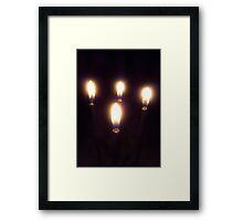 Light a candle Framed Print