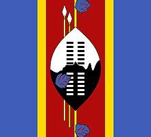 Swaziland Flag by pjwuebker