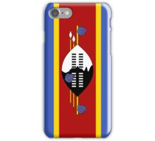 Swaziland Flag iPhone Case/Skin