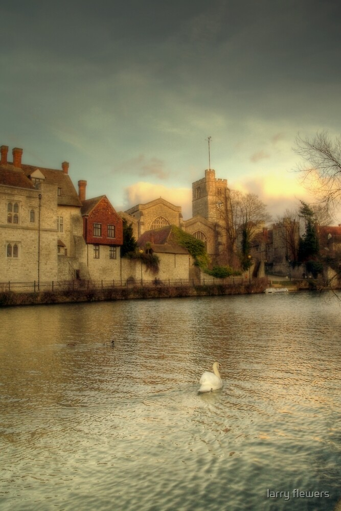 All Saints Church, Maidstone by larry flewers