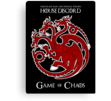 House Discord - Game of Chaos Canvas Print