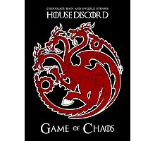 House Discord - Game of Chaos Photographic Print