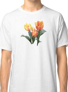 Orange and Yellow Tulips Classic T-Shirt