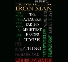 Avengers in Quotes by marvelcommittee
