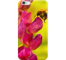 Bee Loves Lupin! iPhone Case/Skin