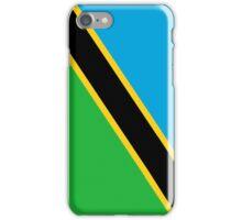 Tanzania Flag iPhone Case/Skin