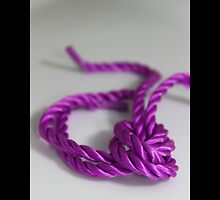 Purple Colored Gift Wrap Ribbon  by © Sophie W. Smith