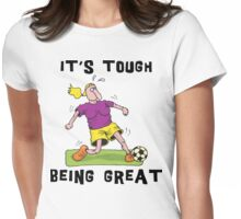 Funny Women 's Soccer Womens Fitted T-Shirt