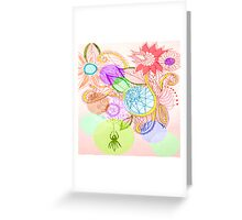 spiders bower Greeting Card