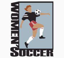 Women's Soccer by SportsT-Shirts