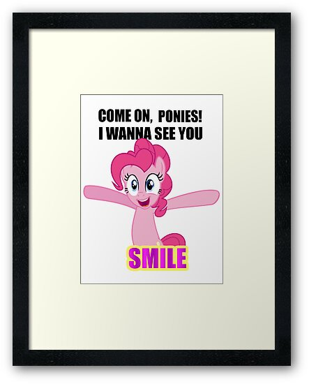 Pinkie Pie - I wanna see you SMILE! by Andaimaru